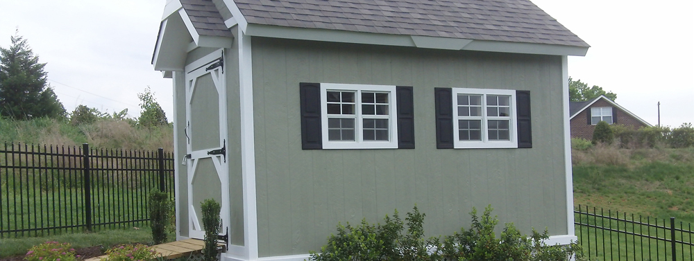 Shed windows made to measure voile