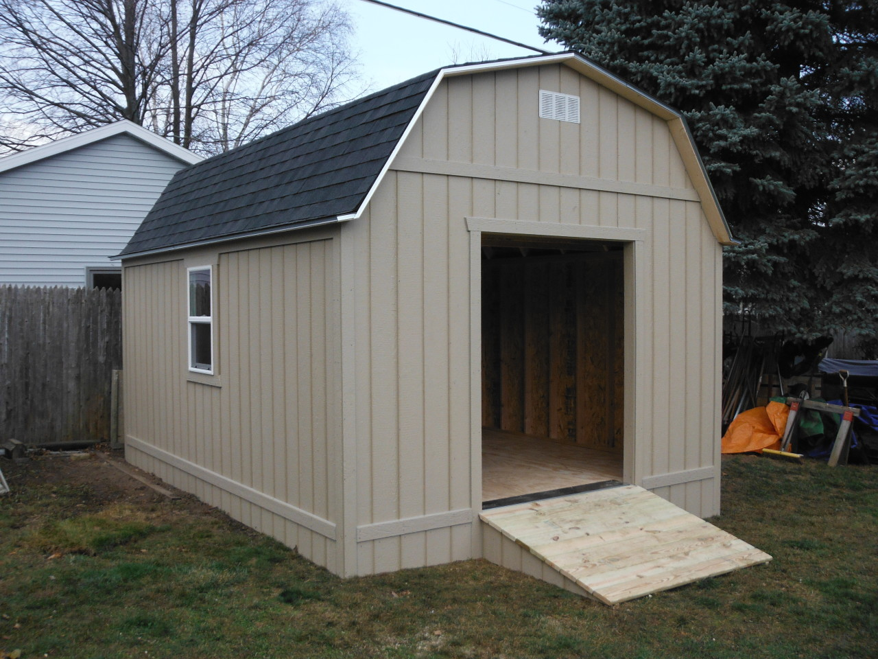 Gambrell Roof Gallery Shed Windows Shed Windows And More 843 393 1820
